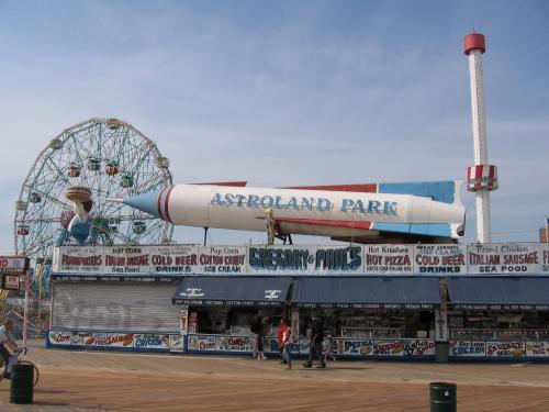 Astroland Park Rocket Cards