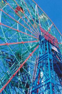 Wonder Wheel  Side View Card