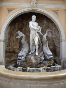 King Neptune Card