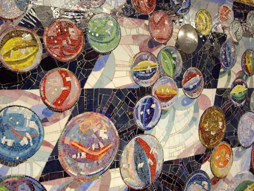 Mosaic Subway Card