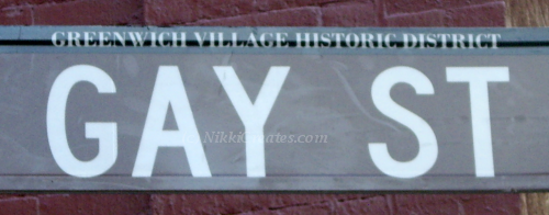 Gay Street Card