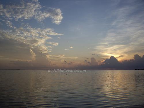 Blue Sunset at Sunset Beach